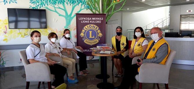 Lefkoşa Merkez Kulübü Çocuk Onkoloji Bölümünün İhtiyaçlarını Gideriyor