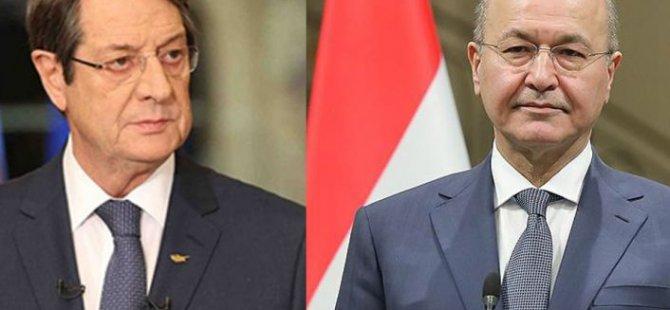 Anastasiadis New York'ta Irak Cumhurbaşkanıyla Bir Araya Geldi