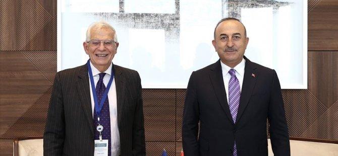 AB Yüksek Temsilcisi Borrell'den 'Türkiye ile yakın iş birliği' mesajı