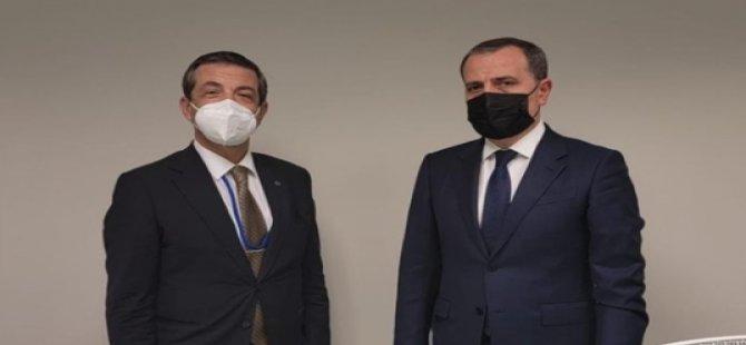 Bakan Ertuğruloğlu, yeni tezlerini Azerbaycan yetkillilerine New York'ta anlattı