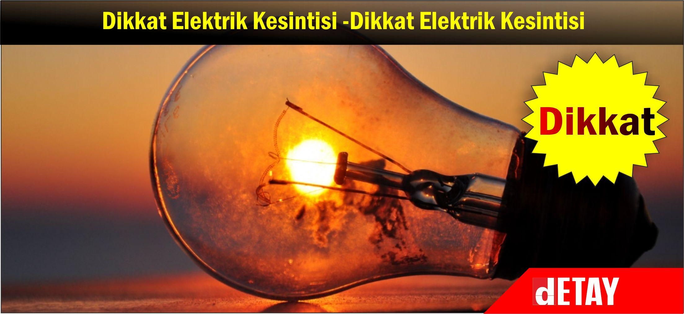 Ülkede elektrik kesintileri yaşanıyor