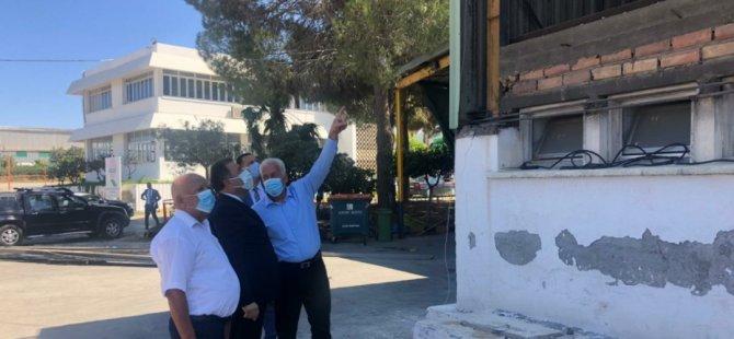 Başbakan Saner, Güzelyurt'u ziyaret etti, vatandaşların sorunlarını dinledi