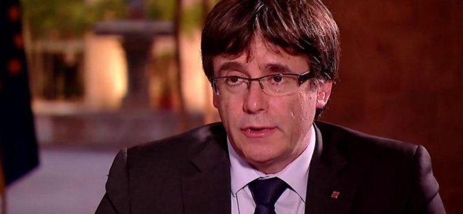 İtalya'da gözaltına alınan Katalan lider Puigdemont serbest bırakıldı ancak ülkeden ayrılamayacak
