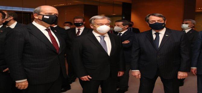 Cumhurbaşkanı Tatar, Guterres ve Anastasiadis İle Yarın Görüşecek