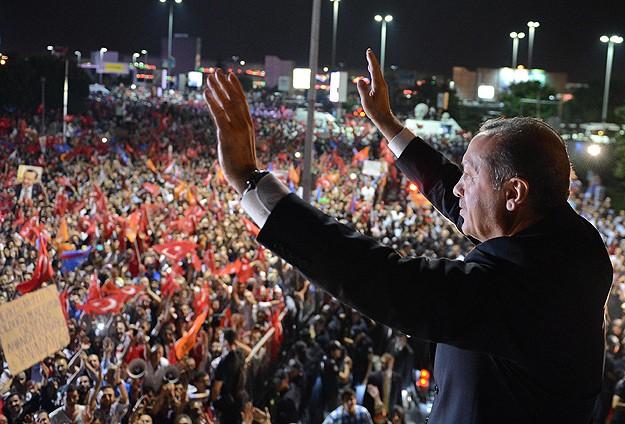 Erdoğan'a coşkulu karşılama dünya basınında