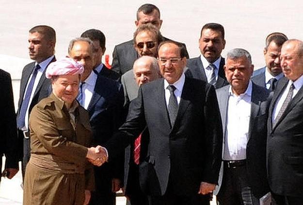 Irak Başbakanı Maliki Erbil'de