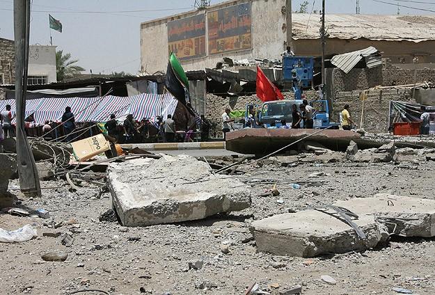 Irak'ta pazar yerinde patlamalar: 10 ölü, 40 yaralı