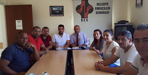 Değirmenlik ve Lefke Belediyelerinde  Toplu İş Sözleşmesi imzalandı