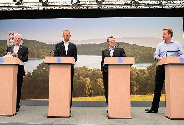 G8 Zirvesi başladı