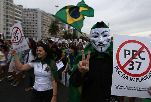 Brezilya'daki gösteriler sürüyor