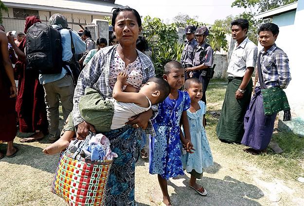 BM Arakan'daki şiddetten endişeli