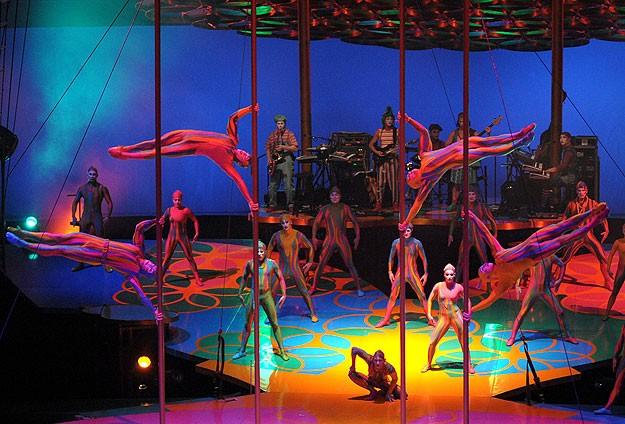 Cirque du Soleil'de korkunç kaza