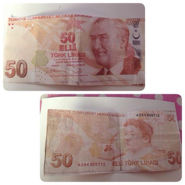 Polis sahte para uyarısı yaptı: 50 TL'lere dikkat, seri numaralar haberde!