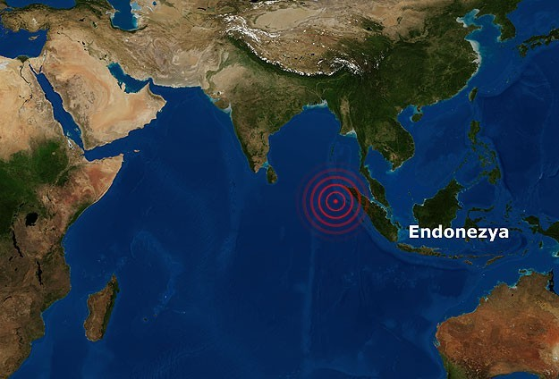 Endonezya'da ikinci büyük deprem