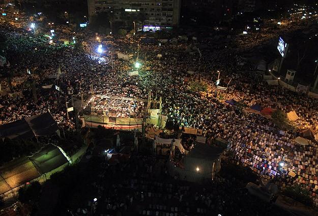 Dünya Mısır'ı AA'dan izliyor