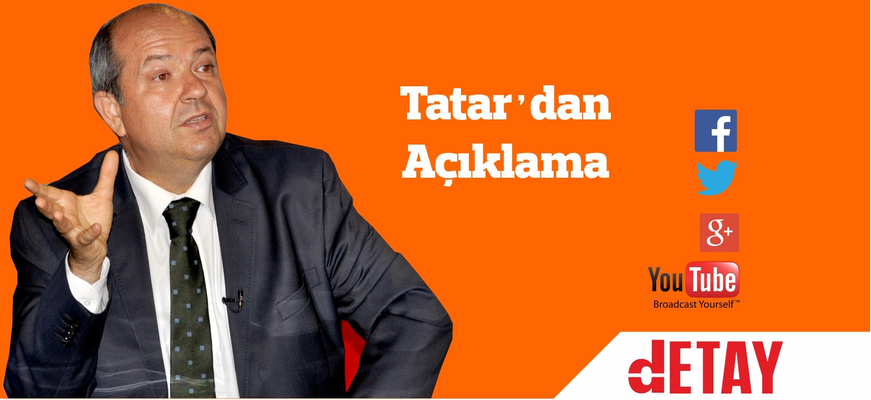 En doğru haliyle, Ersin Tatar açıklaması!