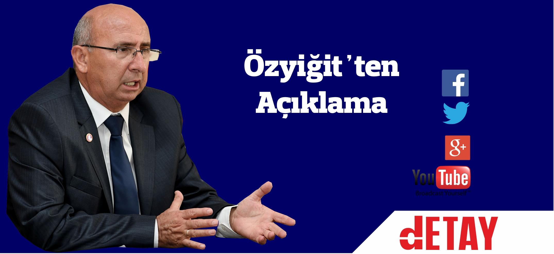 """Özyiğit: """"Ercan'da hata yapanlar hesap versin"""""""