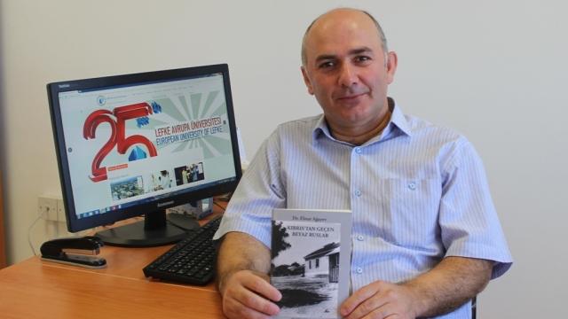 """LAÜ Öğretim Üyesi Ağayev'in """"Kıbrıs'tan Geçen Beyaz Ruslar"""" adlı kitabı yayınlandı"""