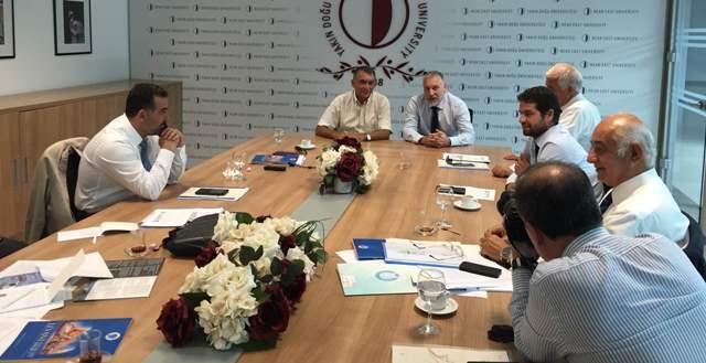 Mersin Deniz Ticaret Odası'ndan Yakın Doğu Enstitüsü'ne İşbirliği Ziyareti