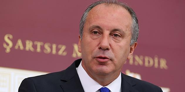 CHP'li İnce: Erdoğan doktor raporu ile görevden alınsın
