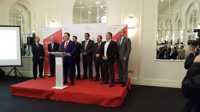İngiltere'deki Kıbrıslı Türk işadamları bir araya geldi