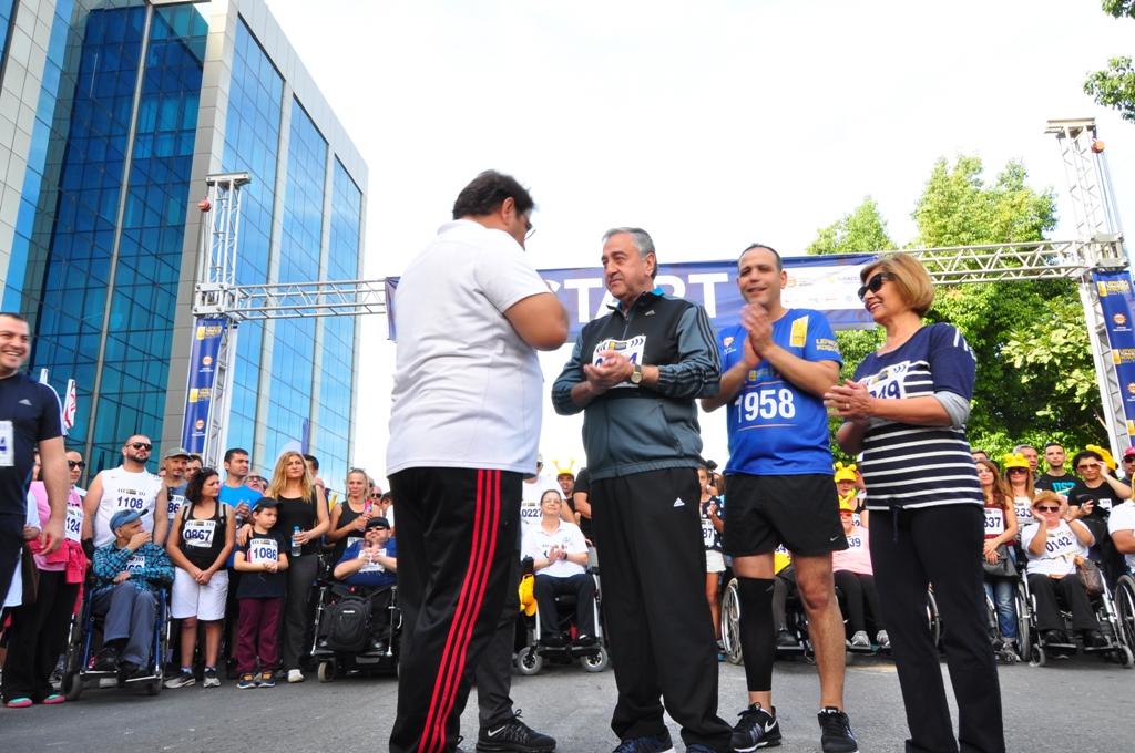 İşte Lefkoşa Maratonu'nun kazananları