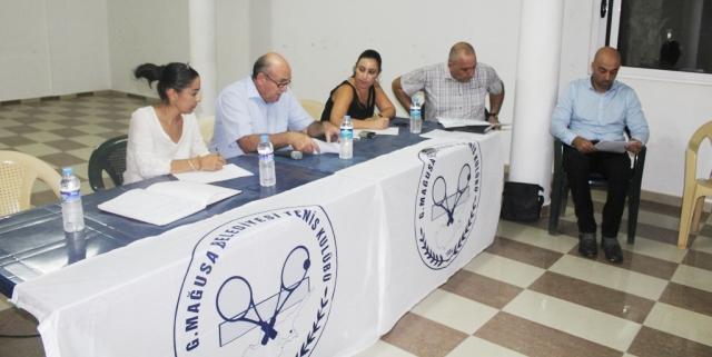 Gazimağusa Belediyesi Tenis Kulübü'nün Olağan Genel Kurulu yapıldı