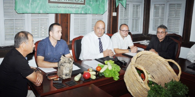 """Mehmetçik Belediyesi """"Tohum Merkezi"""" kurmak için adım attı"""