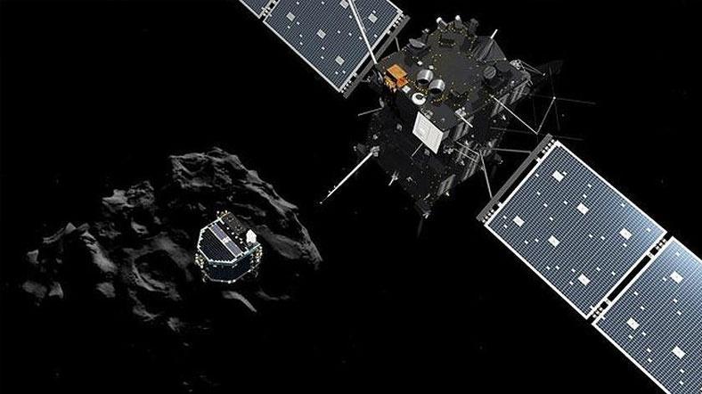 Rosetta, 'kuyruklu yıldız görevi'ni bugün tamamlıyor