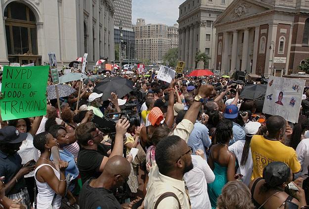 Amerikalılar Trayvon Martin için adalet istiyor