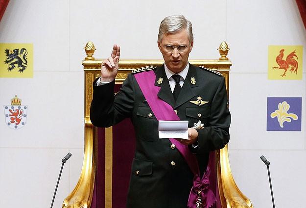 Belçika'da yeni Kral Philippe