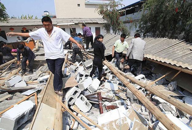 Çin'de 6,6'lık deprem