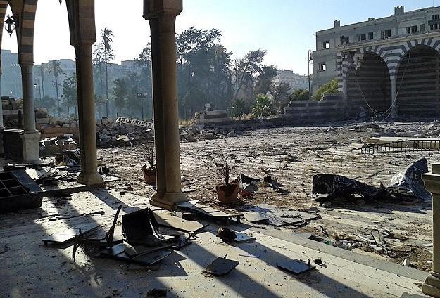 Halid Bin Velid Türbesi'ne saldırı
