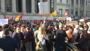 Gezi Parkı gösterileri 'İngiltere'deki Türk toplumunu bölüyor'