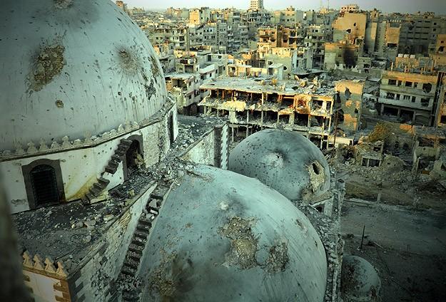 Humus'ta füze saldırısı, Şam'da patlama