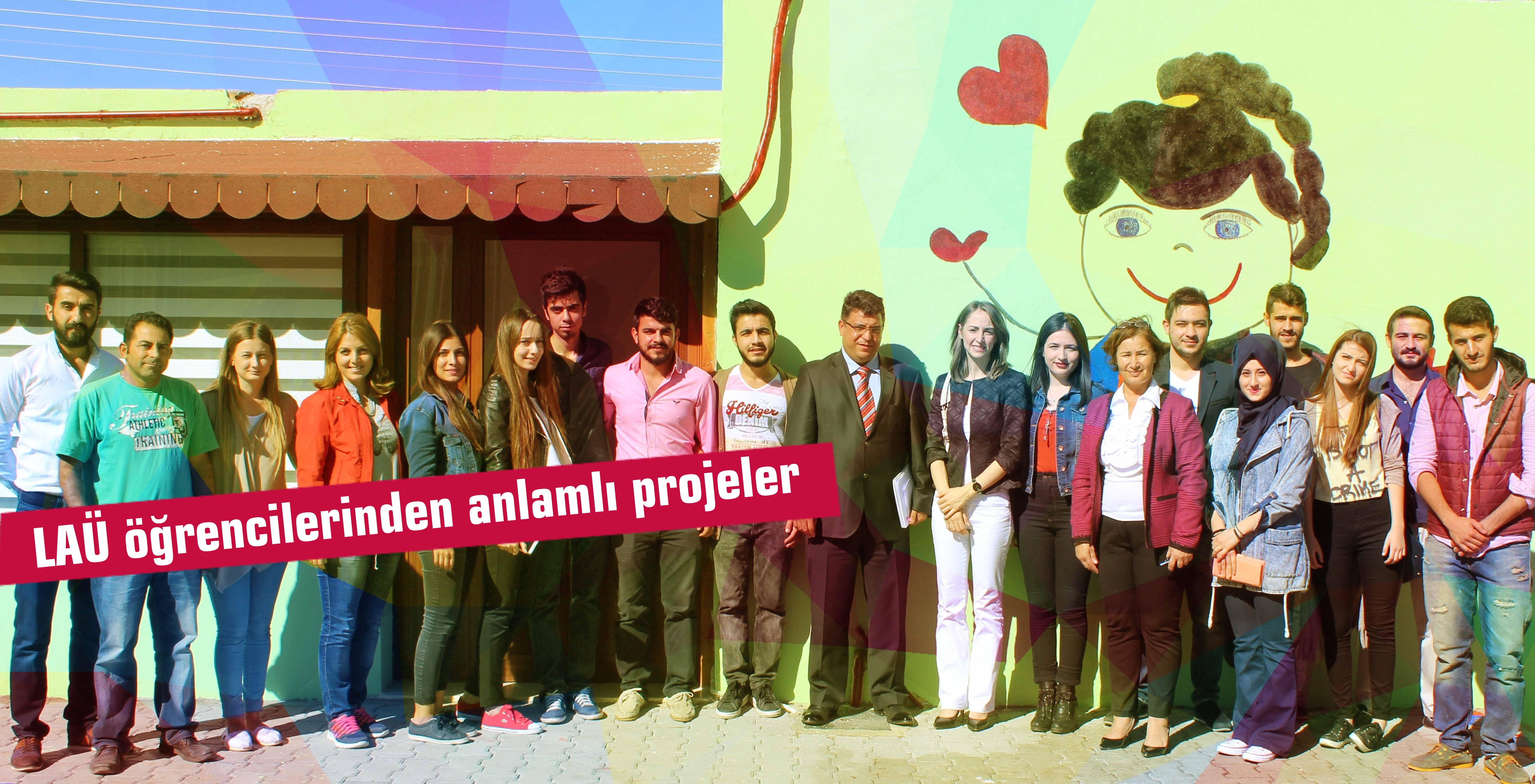LAÜ öğrencilerinden anlamlı projeler