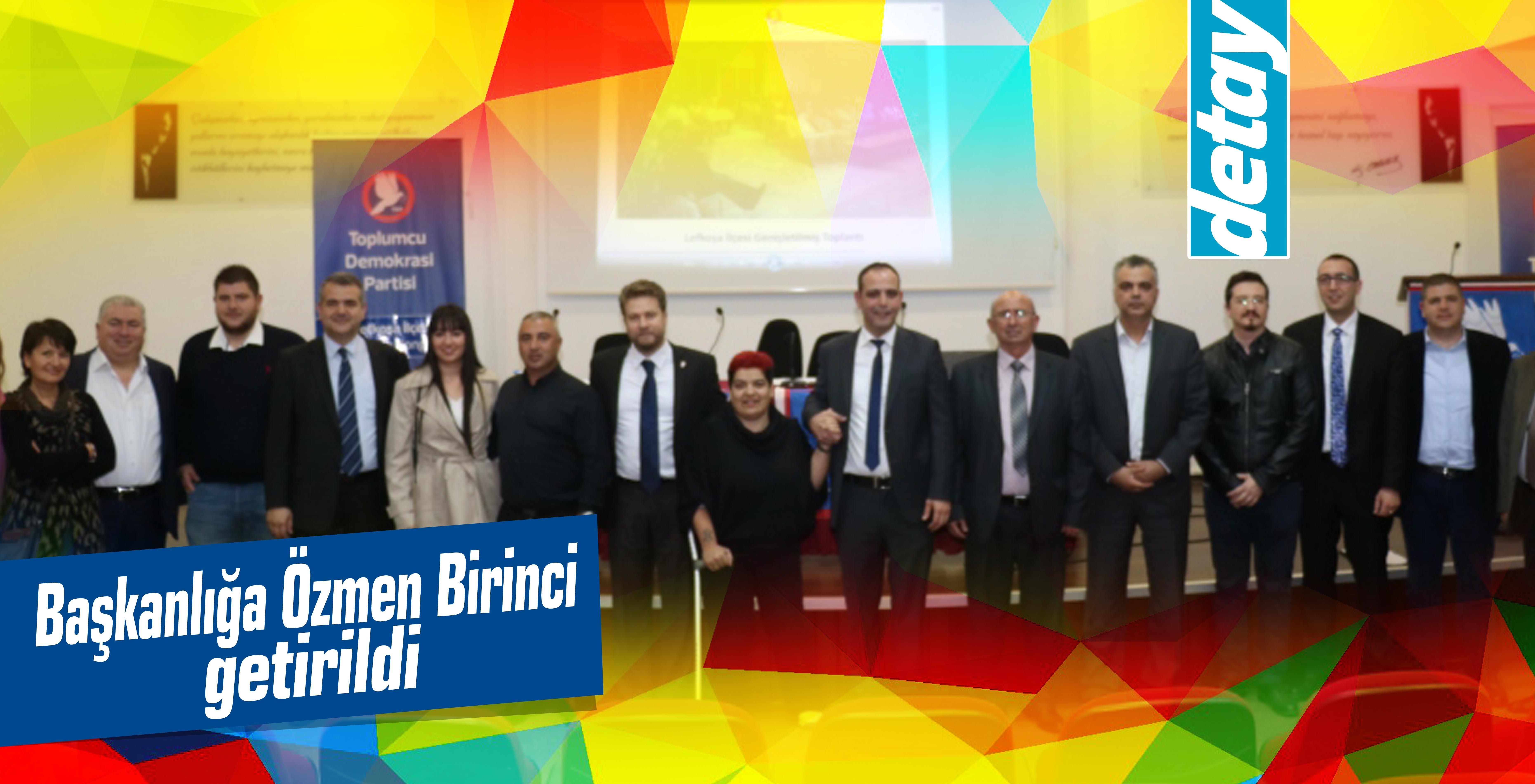 TDP Lefkoşa İlçe Örgütü Kongresi yapıldı