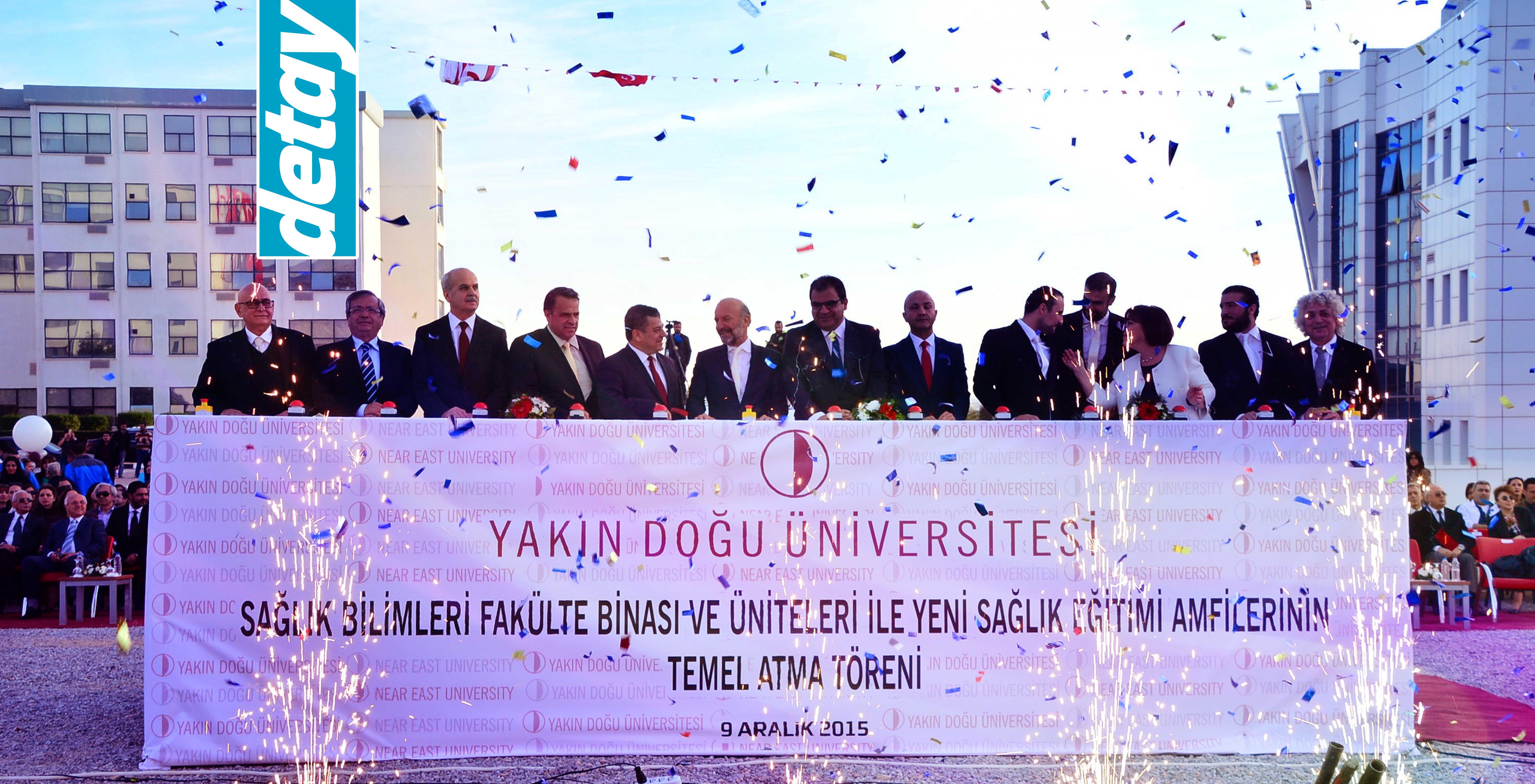 YDÜ Sağlık Bilimleri Fakültesi Binası'nın temeli atıldı