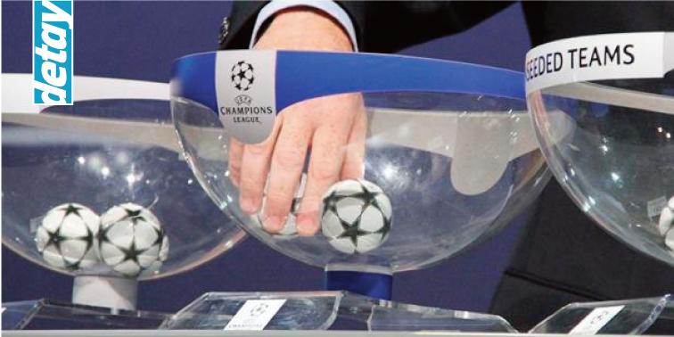 Şampiyonlar Ligi'nde kuralar çekildi!