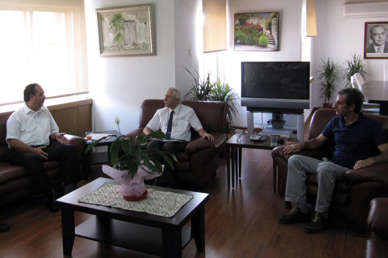 Gazeteciler Birliği'nden Bakan Gürpınar'a Ziyaret