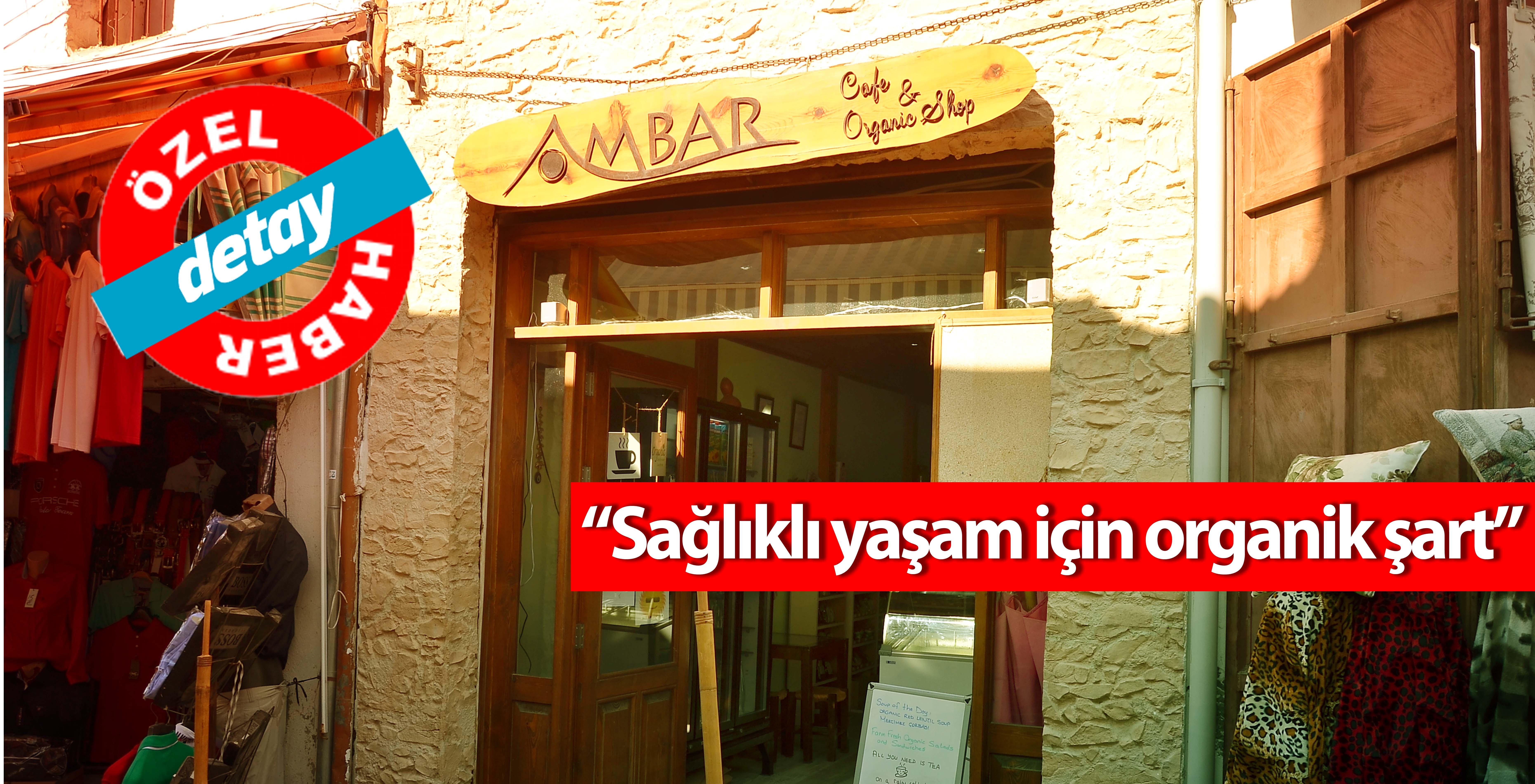 Lefkoşa'daki ilk ve tek organik cafe