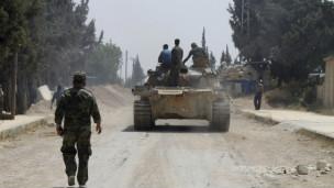 Suriye ordusu Kuseyr'i direnişçilerden geri aldı