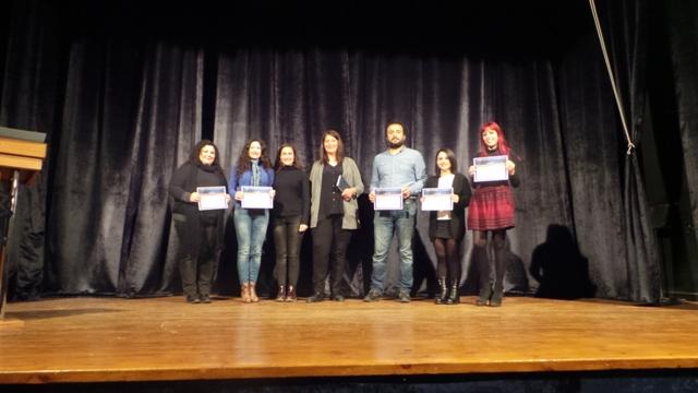 Yaratıcı yazarlık kursu öğrencileri sertifikalarını aldılar