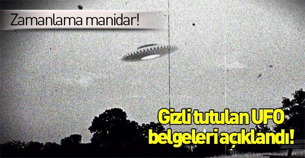 CIA, Yıllardır gizlenen UFO Belgelerini açıkladı
