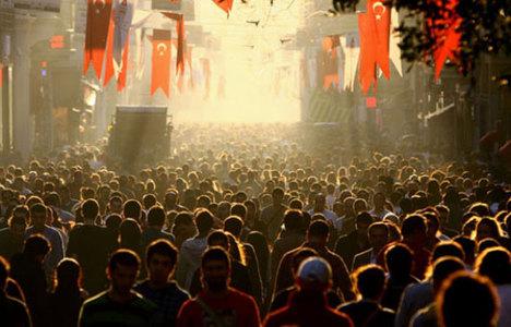 Türkiye'nin nüfusu 78.7 milyon!