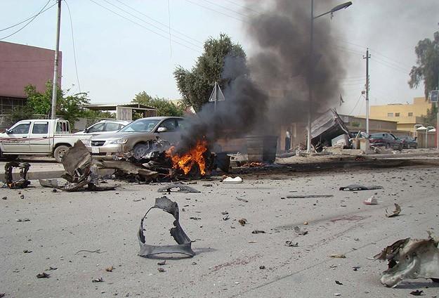 Irak'ta askeri konvoya saldırı