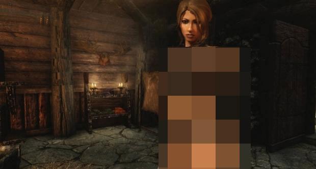 The Elder Scrolls V: Skyrim'de porno skandalı