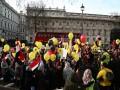 Darbe karşıtları Londra'da gösteri düzenledi