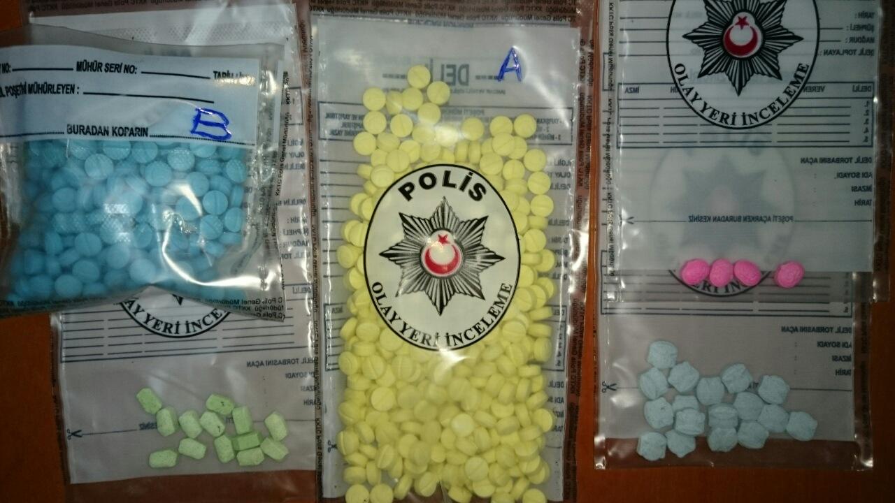 Polisten Gönyeli'de uyuşturucu operasyonu