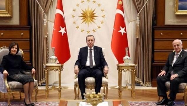 Erdoğan'dan KKTC heyetine vatandaşlık ayarı